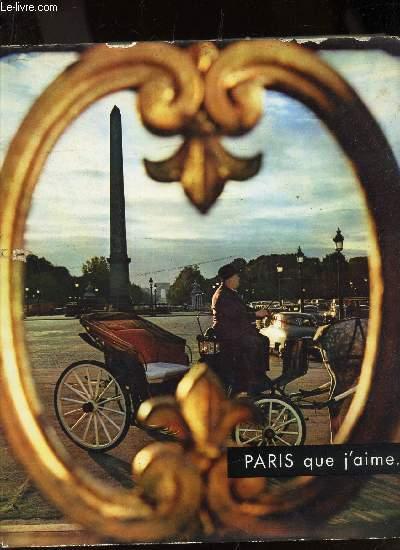 PARIS QUE J'AIME...