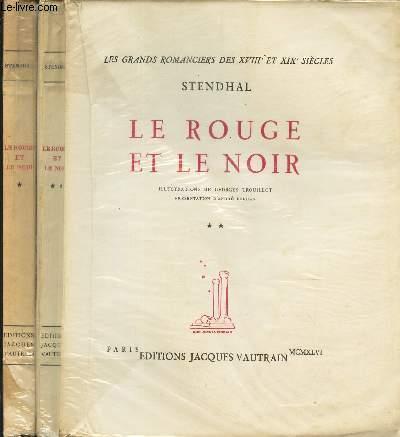 LE ROUGE ET LE NOIR TOME I + TOME II