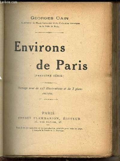ENVIRONS DE PARIS / 1er SERIE / Bourg-la Reine et le Roseraie de l'Hay - Bicêtre - Le Lycée de Vanves - Bagatelle - Le Château de Meudon