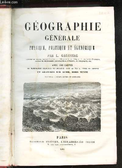GEOGRAPHIE GENERALE