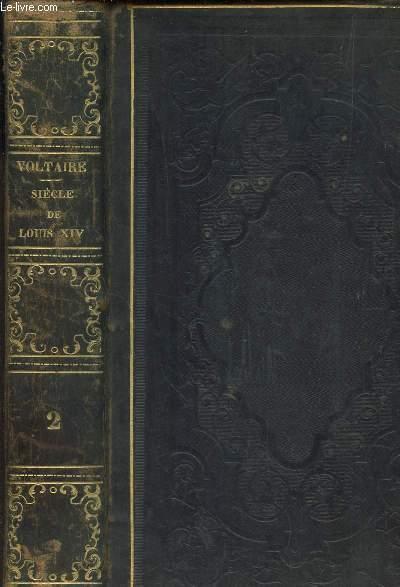 SIECLE DE LOUIS XIV - TOME DEUXIEME.