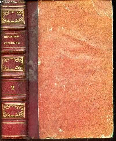 HISTOIRE ANCIENNE - TOME 2 - (suite de l'histoire de la GRECE - TRoisieme age).