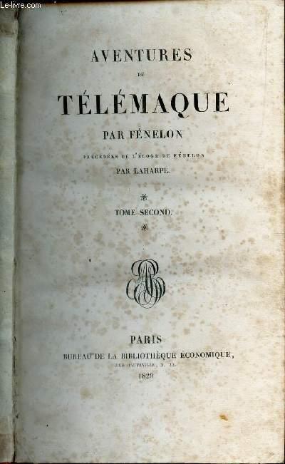 AVENTURES DE TELEMAQUE - TOME SECOND.