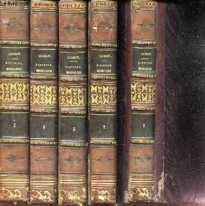 HISTOIRE GENERALE DE LA CIVILISATION EN EUROPE - EN 5 VOLUMES - DU TOME 1 AU TOME 5. / 3eme EDITION.