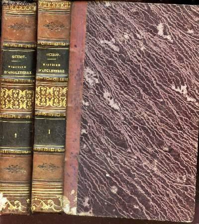 HISTOIRE DE LA REVOLUTION D'ANGLETERRE - EN 2 VOLUMES - TOMES PREMIER ET DEUXIEME / Depuis l'avènement de Charles Ier jusqu'a sa mort / 3eme EDITION.