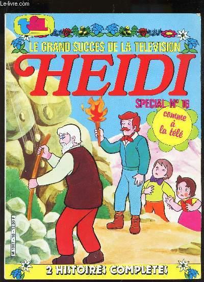 HEIDA - SPECIAL N°16 - 2 HISTOIRES COMPLETES : LA GRANDE OURSE + LE RHIME.