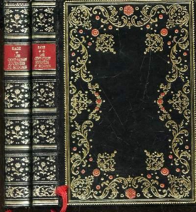 LES CENT VINGT JOURNEES DE SODOME  - EN 2 VOLUMES - TOMES 1 + 2 .