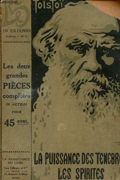 LA PUISSANCE DES TENEBRES - DRAME EN 5 ACTES  + LES SPIRITES -  DRAME EN 4 ACTES.