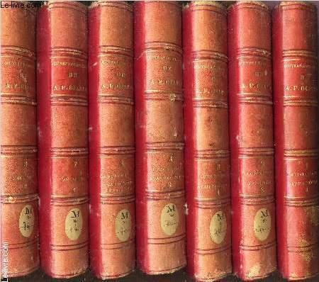 OEUVRES COMPLETES DE A.F.  / EN 8 VOLUMES :