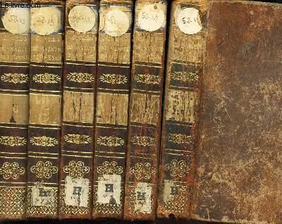 OEUVRES DE SAINTE THERESE - TRADUITES EN FRANCOIS PAR ARNAULD D'ANDILLY / EN 6 VOLUMES ; DU TOME 1 AU TOME 6. / NOUVELLE EDITION CORRIGEE ET AUGMENTEE.