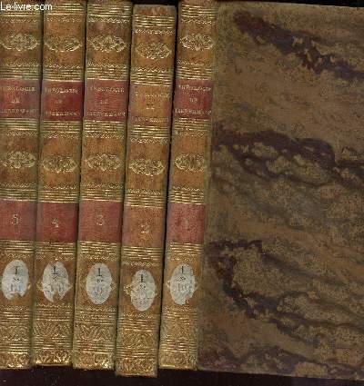 INSTITUTIONS THEOLOGIQUES / EN 5 VOLUMES - DU TOME 1 AU TOME 5.