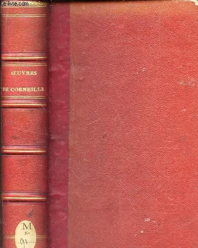 CORNEILLE - OEUVRES CHOISIES - Edition epuree - illustree de 20 dessins de M. Celestin Nanteuil.