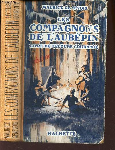 LES COMPAGNONS DE L'AUBEPIN - LIVRE DE LECTURE COURANTE.
