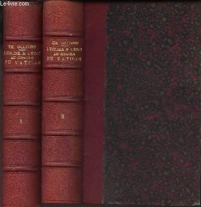 L'EGLISE ET L'ETAT AU CONCILE DU VATICAN - EN 2 VOLUMES : TOME PREMIER ET TOME SECOND.