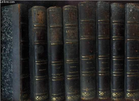 LA CIVILISATION AU CINQUIEME SIECLE / en 8 VOLUMES : TOMES 1 AU TOME 8.