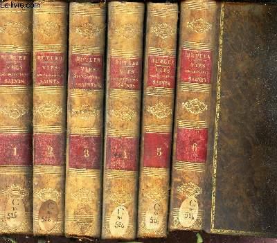 VIES CHOISIES DES PRINCIPAUX SAINTS - EN 6 VOLUMES : TOMES 1 + 2 + 3 + 4 + 5 + 6.