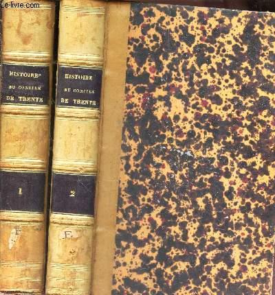 HISTOIRE DU CONCILE DE TRENTE / EN 2 VOLUMES : TOMES PREMIER ET DEUXIEME.