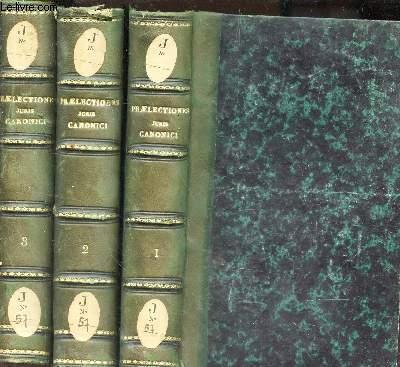 PRAELECTIONES JURIS CANONICI - EN 3 VOLUMES : TOMES 1 + 2 + 3. / QUINTA EDITIO.