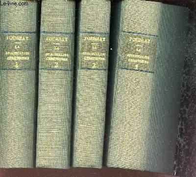 LA SPIRITUALITE CHRETIENNE - EN 4 VOLUMES (tomes 1 + 2 + 3 +4). / voir sommaire en notice.