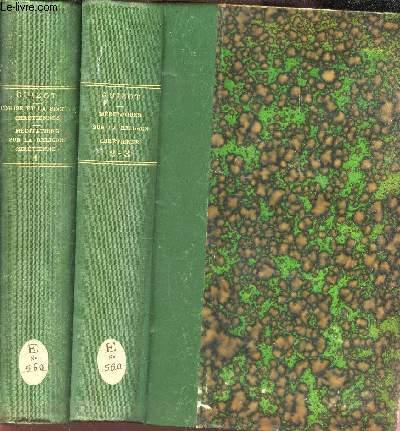 L'EGLISE ET LA SOCIETE CHRETIENNES EN 1861 - EN 2 VOLUMES (TOMES 1 + 12-3).