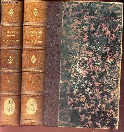 MEDITATIONS - EN 2 VOLUMES (TOMES 2e ET 3eme) / 16e EDITION.
