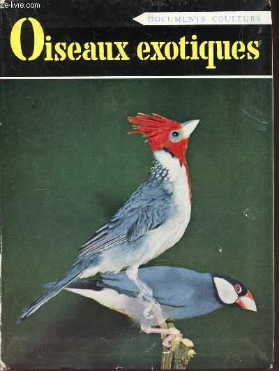 OISEAUX EXOTIQUES DE CAGE - (documents couleuts).