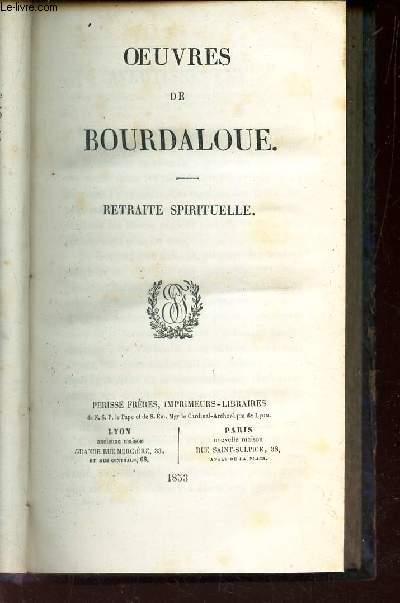RETRAITE SPIRITUELLE /  VOLUME N°18 DE LA COLLECTION