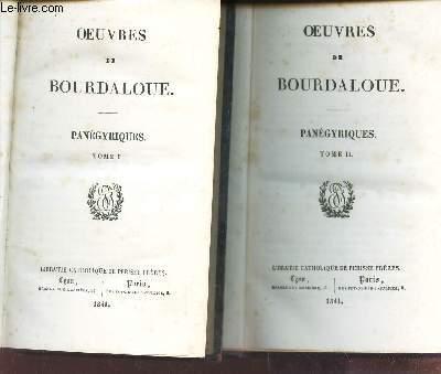PANEGYRIQUES (TOMES I et II)  /  VOLUME N°11 et 12  DE LA COLLECTION