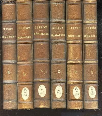 MEMOIRES POUR SERVIR A L'HISTOIRE DE MON TEMPS  - EN 6 VOLUMES ( TOMES 1 à 6).