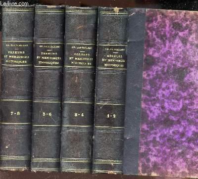 ERREURS ET MENSONGES HISTORIQUES - en 4 VOLUMES (TOMES 1+2 / 3+4 / 5+6 / 7+8).