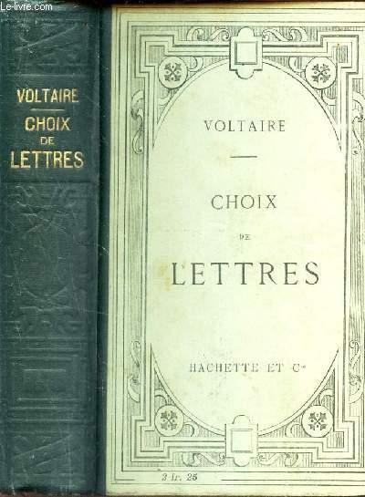 CHOIX DE LETTRES - PUBLIE AVEC UNE INTRODUCTION ET DES NOTES PAR L. BRUNEL / 8e EDITION.