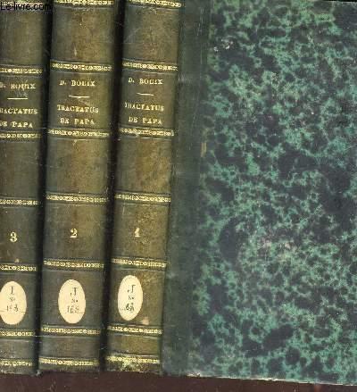 TRACTATUS DE PAPA UBI ET DE CONCILIO OECUMENICO / EN 3 VOLUMES (TOMES 1 + 2 + 3 ) /