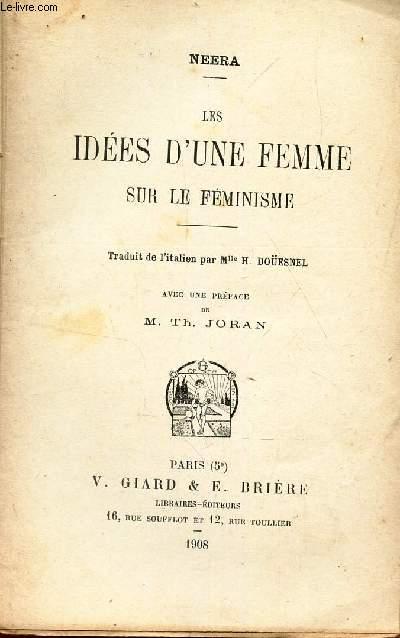 LES IDEES D'UNE FEMME SUR LE FEMINISME -