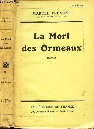 LA MORT DES ORMEAUX