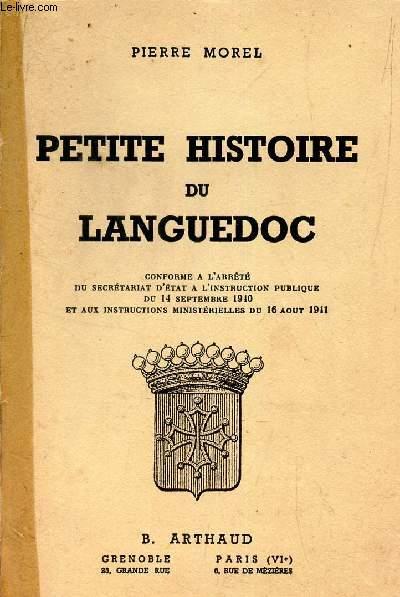 PETITE HISTOIRE DU LANGUEDOC -