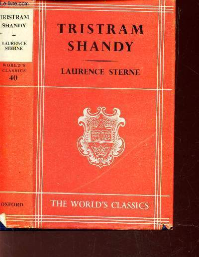 THE LIFE AND OPINIONS OF TRISTRAM SHANDY GENTLEMAN