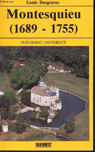MONTESQUIEU (1689-1755) -