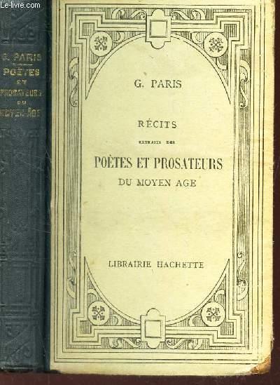 RECITS - Extrait des POETES ET PROSATEURS DU MOYEN AGE.