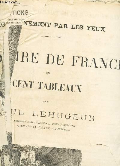 HISTOIRE DE FRANCE EN CENT TABLEAUX -