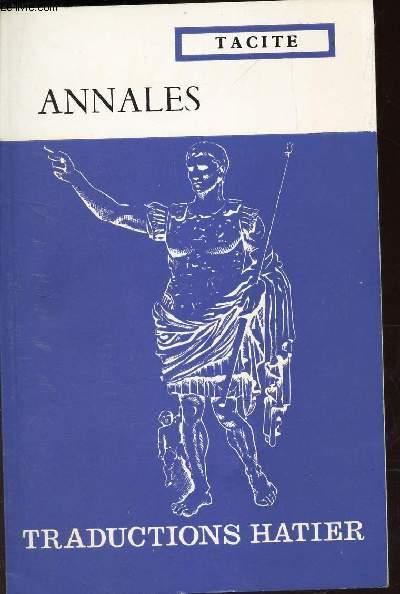 ANNALES - EXTRAITS TRADUITS PAR A. BOURGERY.