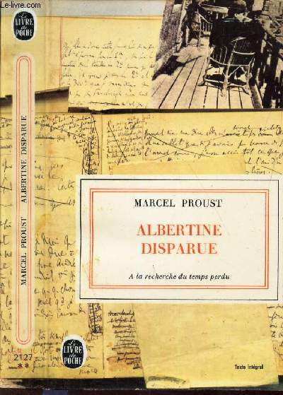 ALBERTINE DISPARUE -  (TOME VII DE