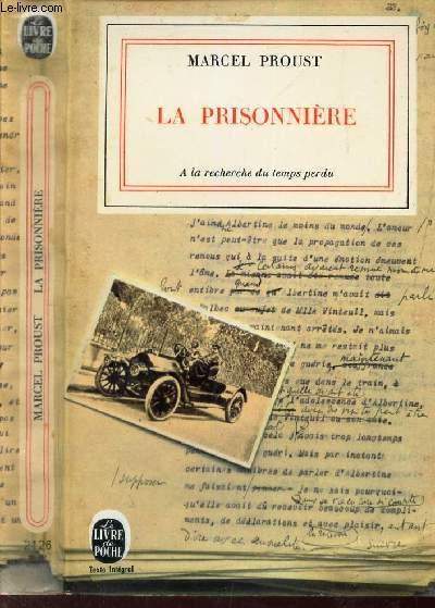 LA PRISONNIERE  -  (TOME VI DE