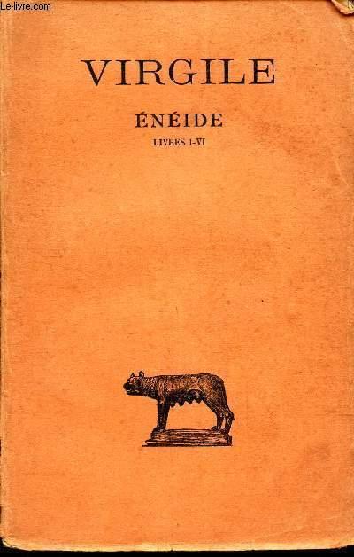 ENEIDE - LIVRES  (I - VI )  / texte etabli et traduit par André BELLESORT.