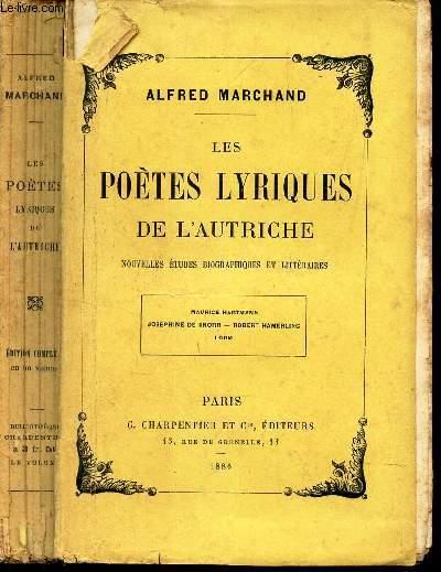 LES POETES LYRIQUES DE L'AUTRICHE -