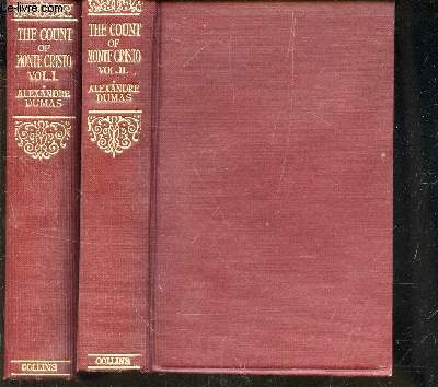 THE COUNT OF MONTE-CARLO / EN 2 VOLUMES  - TOMES I + II.