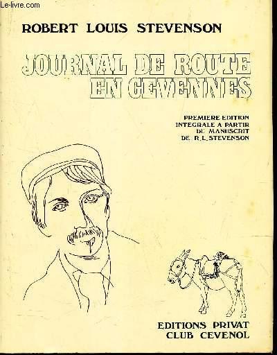 JOURNAL DE ROUTE EN CEVENNES -