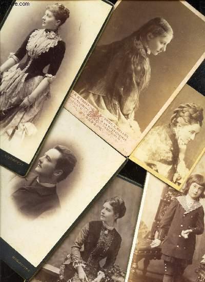 LOT DE DOCUMENTS (dont lettres et photos-cartes) CONCERNANT LA FAMILLE TISZA (LAJOS, ISTVAN, PAULINEet LA PRINCESSE