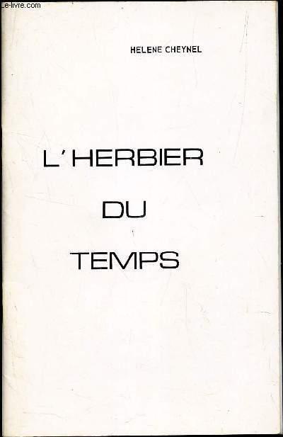 L'HERBIER DU TEMPS.
