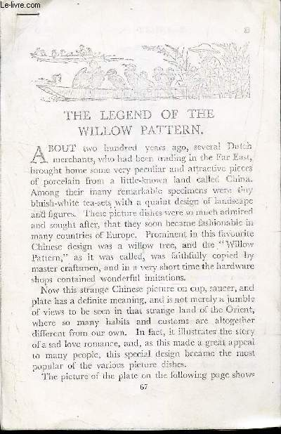 THE LEGEND OF THE WILLOW PATTERN