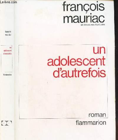 UN ADOLESCENT D'AUTREFOIS